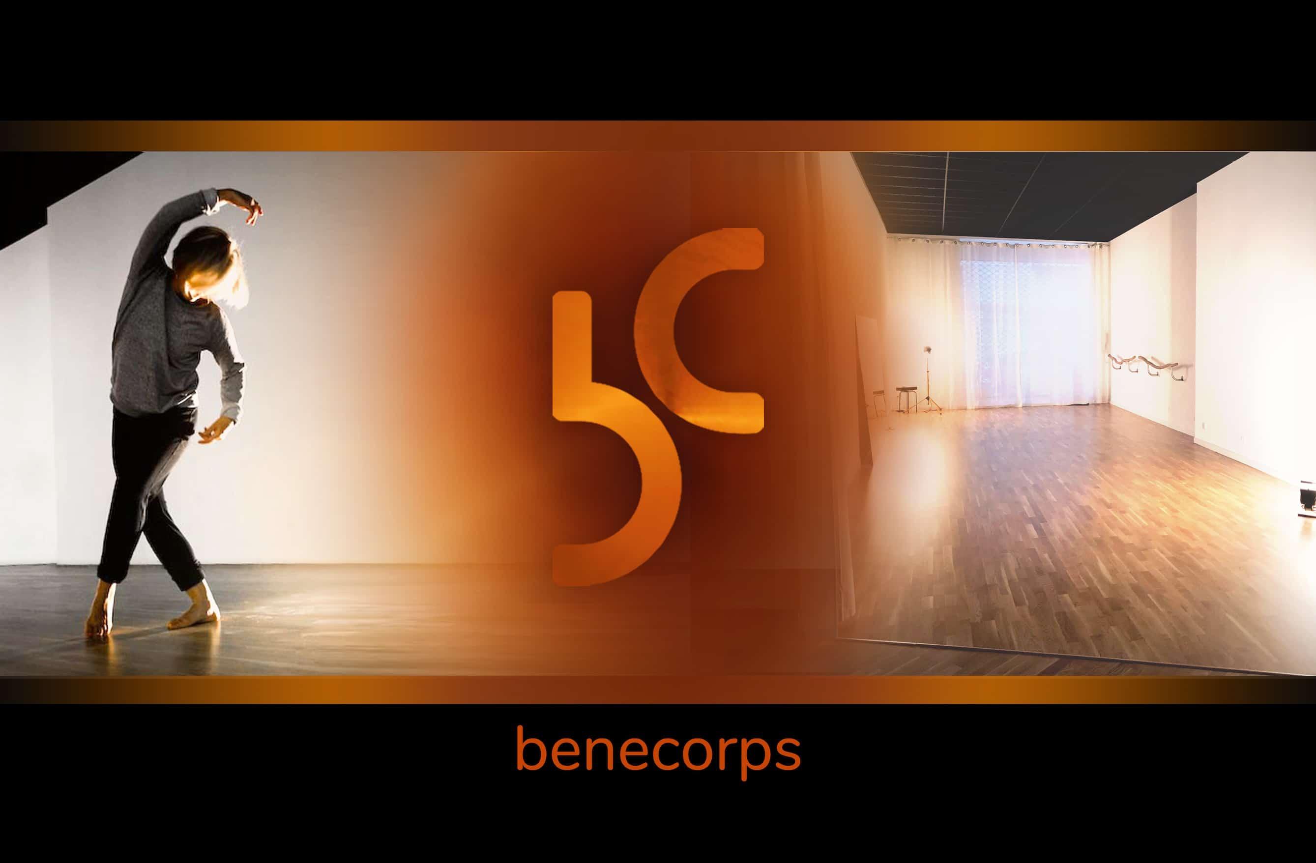 Accueil Benecorps, centre pluridisciplinaire. Ecole de Danse, Location de salles. Cours de pilates, yoga, fitness, arts martiaux, gym douce, biodanza