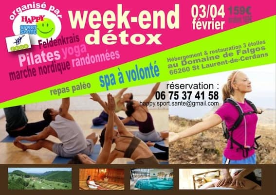 Stages et formations : week-end detox
